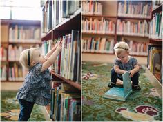 Library Photo Shoot IDEA.  kym vitar {photography}: los angeles children's photography: adeline is one!