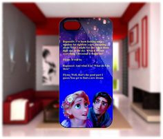 Rapunzel and Flynn Tangled phone case... um yes please!