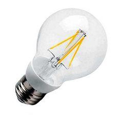 Bec LED, Showmine, E27, 3.6W, Filament, Alb, Cald