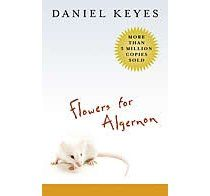 Flowers for Algernon by Daniel Keyes, such a sad book, but worthwhile none the less.