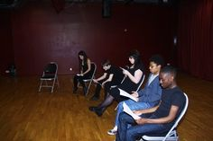 YandT Rep Company: The Break Through for Actors by Alex Coles Y & T, London Theatre, Young Actors, East London, Acting