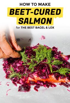 Yes, You Can Make Beet-Cured Lox at Home | Extra Crispy