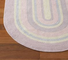 Chenille Braided Rug | Pottery Barn Kids