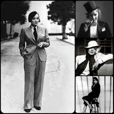 The many suits of Marlene