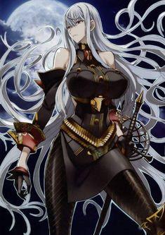 Art Anime, Chica Anime Manga, Anime Art Girl, Fantasy Characters, Female Characters, Anime Characters, Fantasy Character Design, Character Art, Yandere
