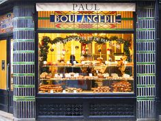 Boulangerie Paul in Lille, France. You must visit this boulangerie if you stay in Lille!