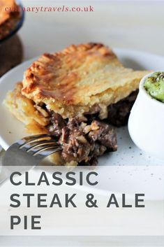 Steak & Ale Pie. There are few things more satisfying and crowd-pleasing than bringing a dish of golden-crusted goodness to the table. Great pies mean great fillings and the greatest fillings come from rich, slow-cooked beef. The best pies don't even need gravy; they're self-saucing. #CulinaryTravels #Pie #SteakPie #Pastry