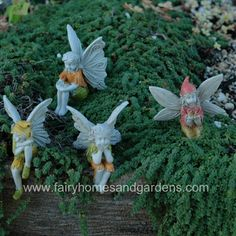 Set of 4 Miniature Garden Fairies $20.00