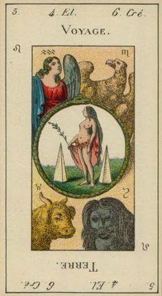 Etteilla Tarots - Grand Etteilla (Grimaud, 1910, type I) - rozamira tarot - Álbumes web de Picasa