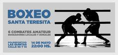 Este sábado a partir de las 22 se vivirá en el Polideportivo del barrio Las Quintas de Santa Teresita una jornada intensa de boxeo, con seis combates de la categoría amateur. La velada se...