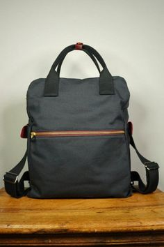 Zwei Mademoiselle.m Rucksack Rucksack Laptoptasche Tasche Nubuk-petrol Grün Attraktive Mode Reisen