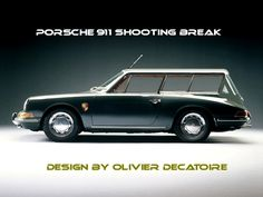 Canadian Auto Network pin: Porsche 911 combi shooting (Break?) Brake