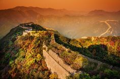 A moody evening at the Great Wall from #treyratcliff at www.StuckInCustoms.com - all images Creative Commons Noncommercial