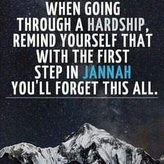 You will forget