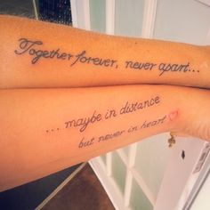 """""""Dont know what id do without my mum shes always been there for me, this tattoo means alot to both of us ♡…"""""""