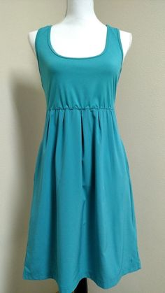 Columbia Marakesh Maven Dress Omni-Shade Omni-Wick SIze S Small Aqua #Columbia #Summer