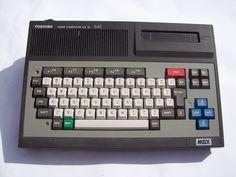 Mijn eerste computer, een Toshiba MSX
