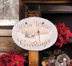 Winter Greetings Slate *** You can find more details by visiting the image link.