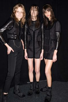 Alexander Wang Fall 2015 Ready-to-Wear - Beauty - Gallery - Style.com