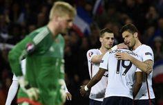 Con un doblete de Giroud, Francia se impone a Dinamarca - Francia se apuntó un cómodo triunfo, el cuarto seguido, en un amistoso en Copenhague (1-2) contra Dinamarca gracias a un doblete de Giroud en el arr...