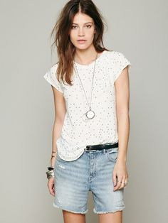 Free People Stone Summer Stars Tee