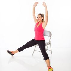 6 Seated Moves That Work Your Whole Body - Don't be fooled: This workout firms and burns much more than you'd think!
