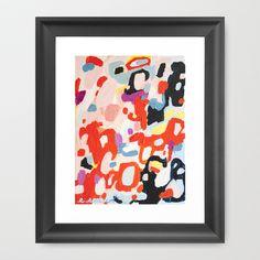 Urban Sprawl Framed Art Print by Emily Rickard - $32.00