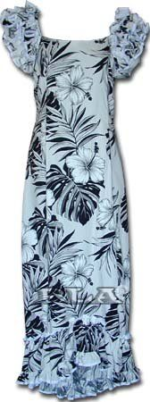 Luau Hawaiian Muumuu Hawaiian Dress - Womens Hawaiian Dress - Aloha Dress - Hawaiian Clothing - 100% Cotton White XS FREE SHIPPING!!. Search Good Hawaiian Shirts in your Amazon search for more selection.. DO NOT use Amazon's sizing chart. Please mouse over the image on your left to view our sizing chart.. Visit our storefront for more designs.. Made in Hawaii, USA..  #Pacific_Legend #Apparel