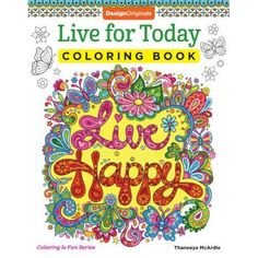 Live For Today Coloring Book Is Fun 9781497202054 Brand New Item Unopened Product Design Originals