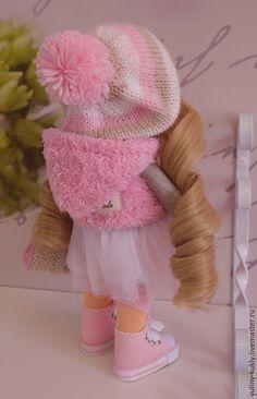 Коллекционные куклы ручной работы. Заказать Текстильная куколка- малышка Лолочка. Юлия Соколова. Ярмарка Мастеров. Кукла интерьерная, вельвет