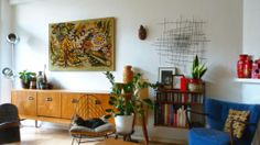 Sideboard Blumen Setting