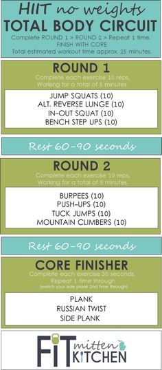 HIIT Total Body Workout | Posted By: NewHowToLoseBellyFat.com