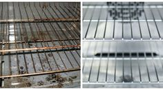 With little effort to the cleanest oven grate, for a long time. It works like this! - Home Cleaning Hacks Oven Cleaning, House Cleaning Tips, Cleaning Hacks, Clean Baking Pans, Natural Cleaning Products, Clean House, It Works, Woodworking, Lifehacks