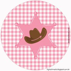 Horse Birthday Parties, Cowgirl Birthday, Cowgirl Party, Cowboy And Cowgirl, 4th Birthday, Dibujos Toy Story, Cartoon Cow, Horse Party, Western Parties