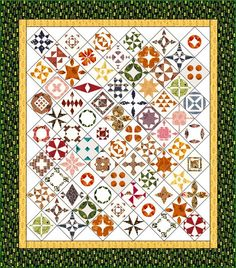 Another Dear Jane quilt that I really like