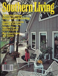 "April 1981 | A Playful House Designed For Relaxing....cover of SL the month/year our 3rd child, a son, was born.  He helped make our home, like the cover says, ""playful."""