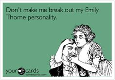 Don't make me break out my Emily Thorne personality.