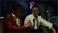 "Study of ""Fight Club"" scene."