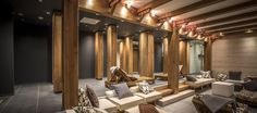 LEMAYMICHAUD | Quebec | Architecture | Interior Design | Spa | Main Room | Seating | Lighting | Wood Spa, Bay Window, Interiores Design, Architecture Design, Commercial, Store, Table, Room, House