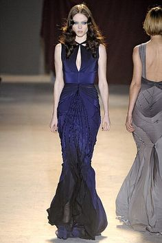Zac Posen Fall 2011. Dreamy blue gown