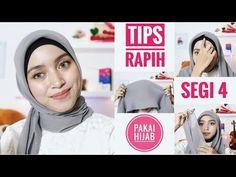 Tips Rapih Memakai Hijab Segi Empat Street Hijab Fashion, Muslim Fashion, View Photos, Kids And Parenting, Helpful Hints, Hijabs, Videos, Tips, People