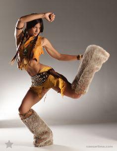 Pocahontas by Caesar Lima, via Behance