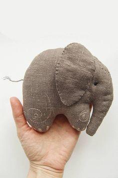 Baby elephant Grey Elephant Elephant plush stuffed animal