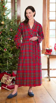 Portuguese Flannel Wrap Robe  There s a reason our 100% cotton Portuguese  flannel bathrobe is aaefa8df1