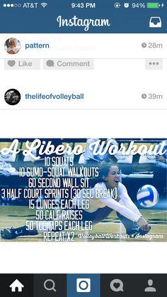 Libero workout Source by carinaclc Libero Volleyball, Volleyball Memes, Volleyball Skills, Volleyball Practice, Volleyball Clubs, Volleyball Training, Volleyball Workouts, Volleyball Outfits, Coaching Volleyball