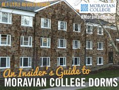 Get the inside scoop on Moravian College residence halls.