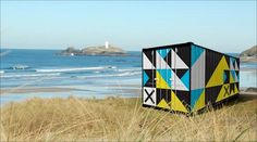 Shipping container for Cornwall Design Season - via Celt