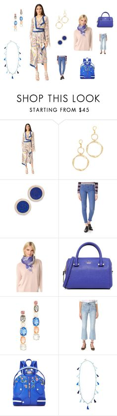 """""""Give your best"""" by jamuna-kaalla on Polyvore featuring BCBGMAXAZRIA, Kenneth Jay Lane, Pamela Love, M.i.h Jeans, McQ by Alexander McQueen, Kate Spade, Adia Kibur, Levi's, Moschino and Rosantica"""
