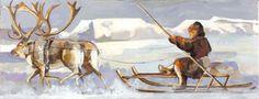 Lambok #MartaMilossis Decoration, Les Oeuvres, Painting, Paintings, Animals, Decorating, Decor, Embellishments, Draw