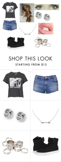 """Untitled #478"" by ray-dany ❤ liked on Polyvore featuring Topshop, FOSSIL, ASOS and Supra"